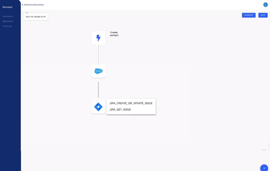 automatisation Salesforce Jira