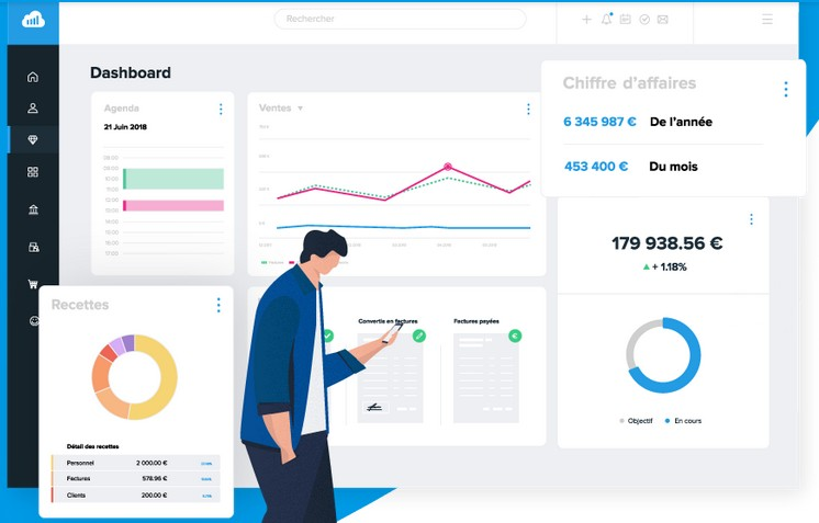 Suite Sellsy CRM