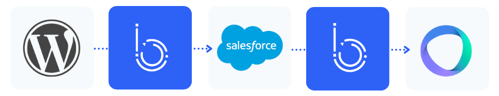 automatisation Wordpress, Salesforce, 360 Learning