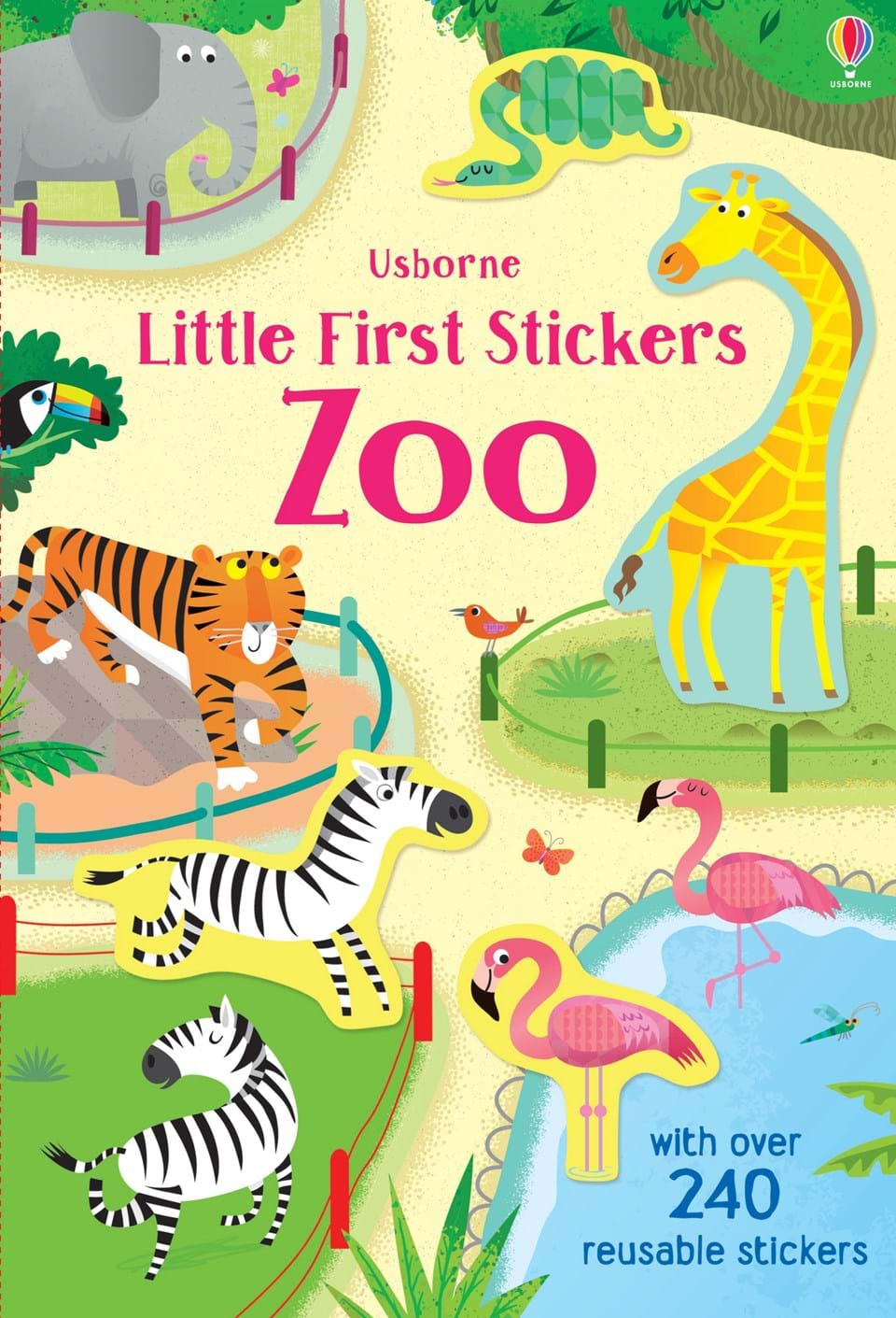 Paperback - Little First Stickers Zoo