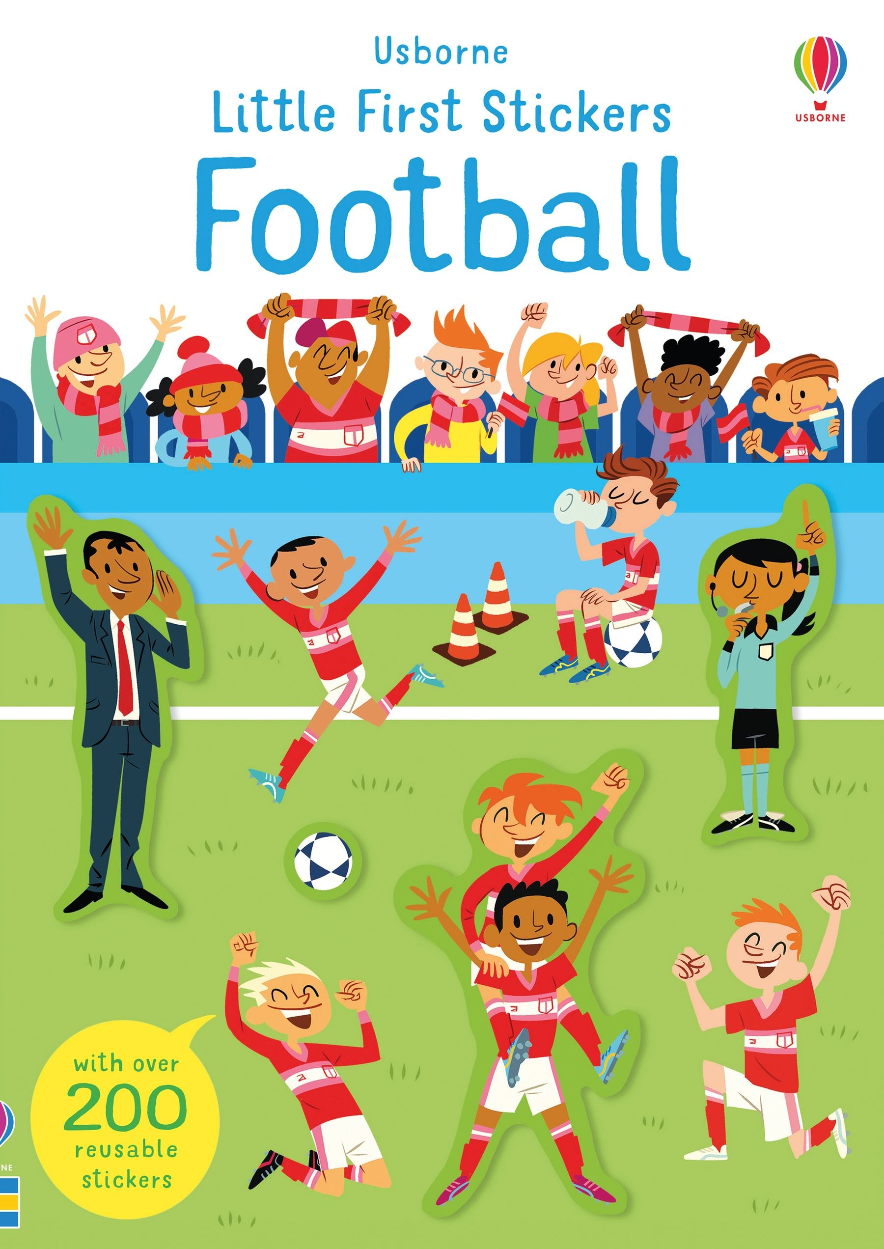 Paperback - Little First Stickers Football