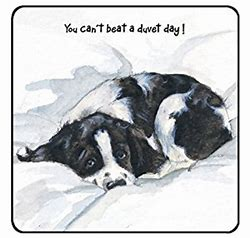 Cocker Spaniel Coaster – Duvet Day