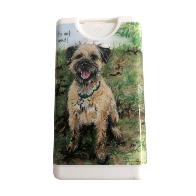 Hand Cleanser Border Terrier