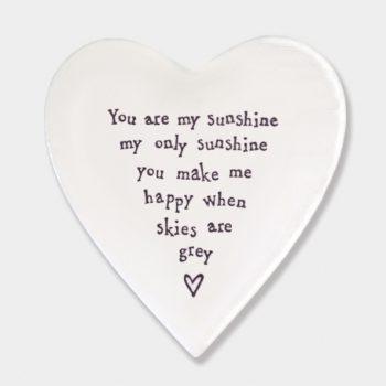 Porcelain Coaster - You Are My Sunshine