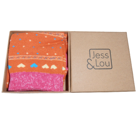 Jess & Lou - Socks in a box
