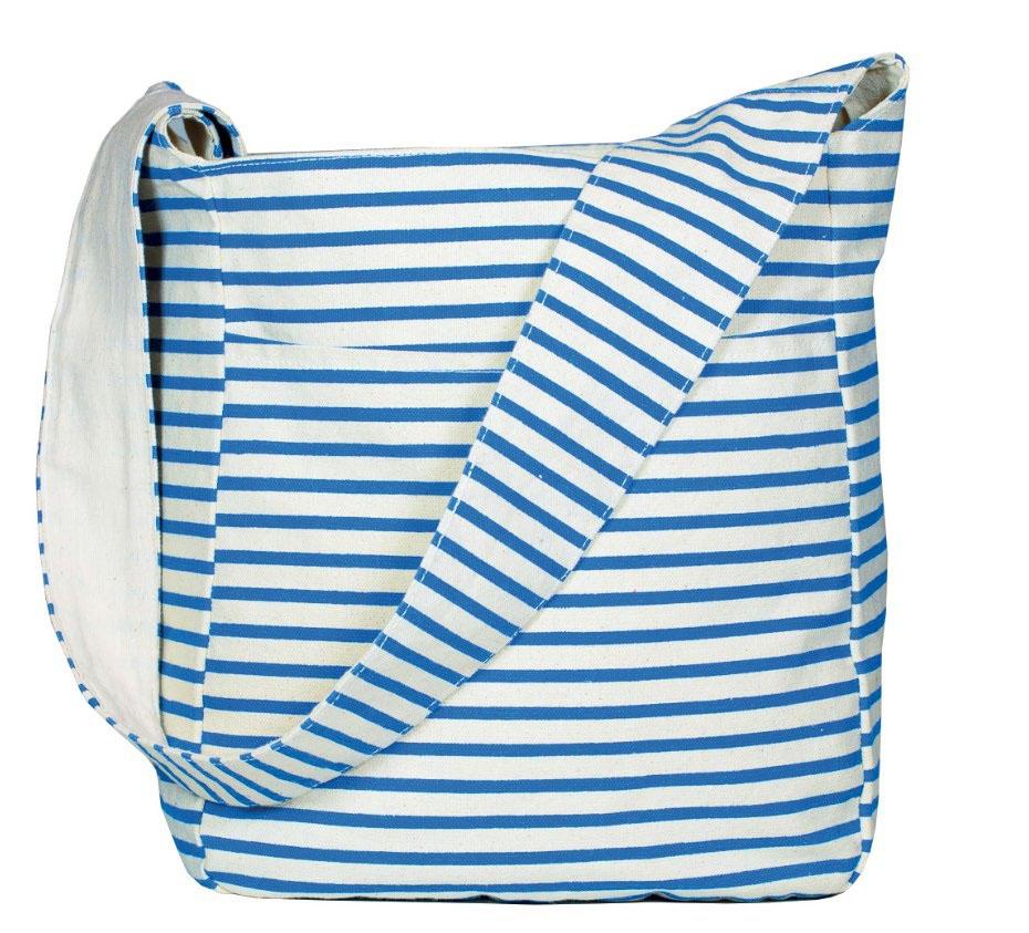 Inis Striped Sling Bag
