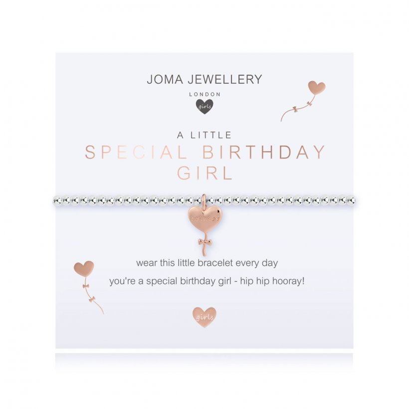 Childrens Joma Jewellery - Special Birthday Girl Bracelet