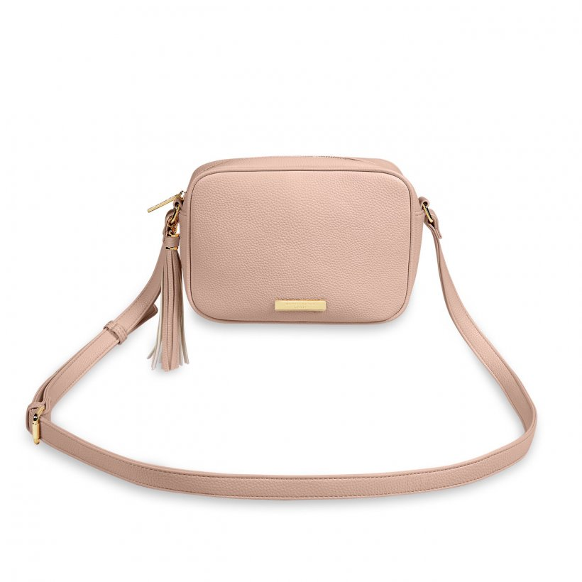 Sophia Tassel Crossbody Bag Pale Pink