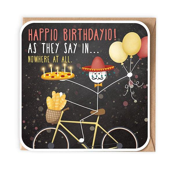 Happio Birthdayio!