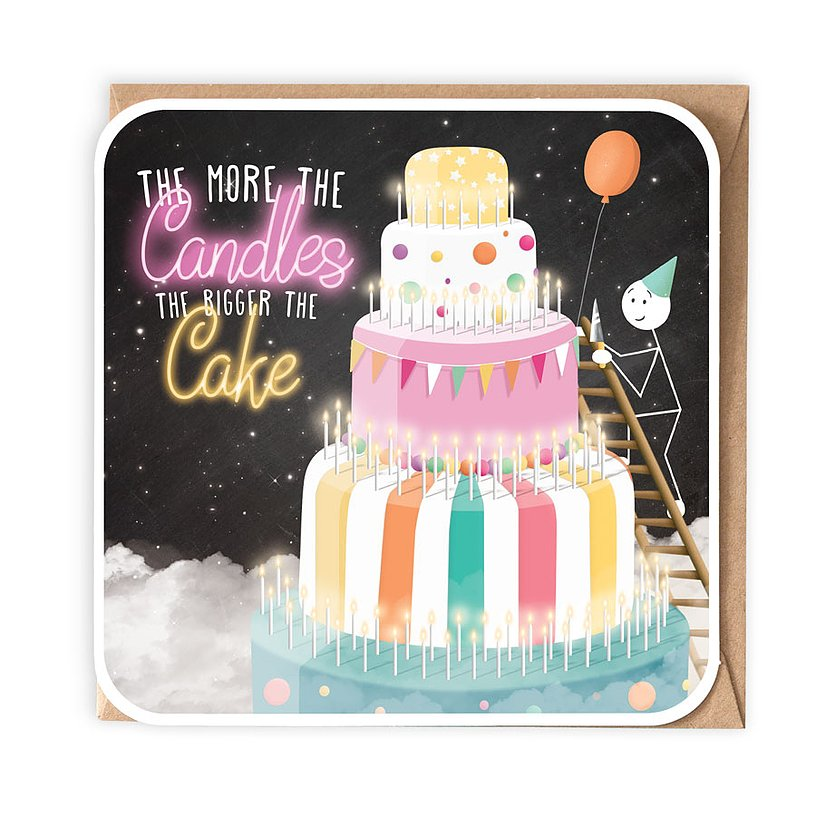 The More Candles, the Bigger the Cake