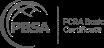 logos of FCRA and PBSA