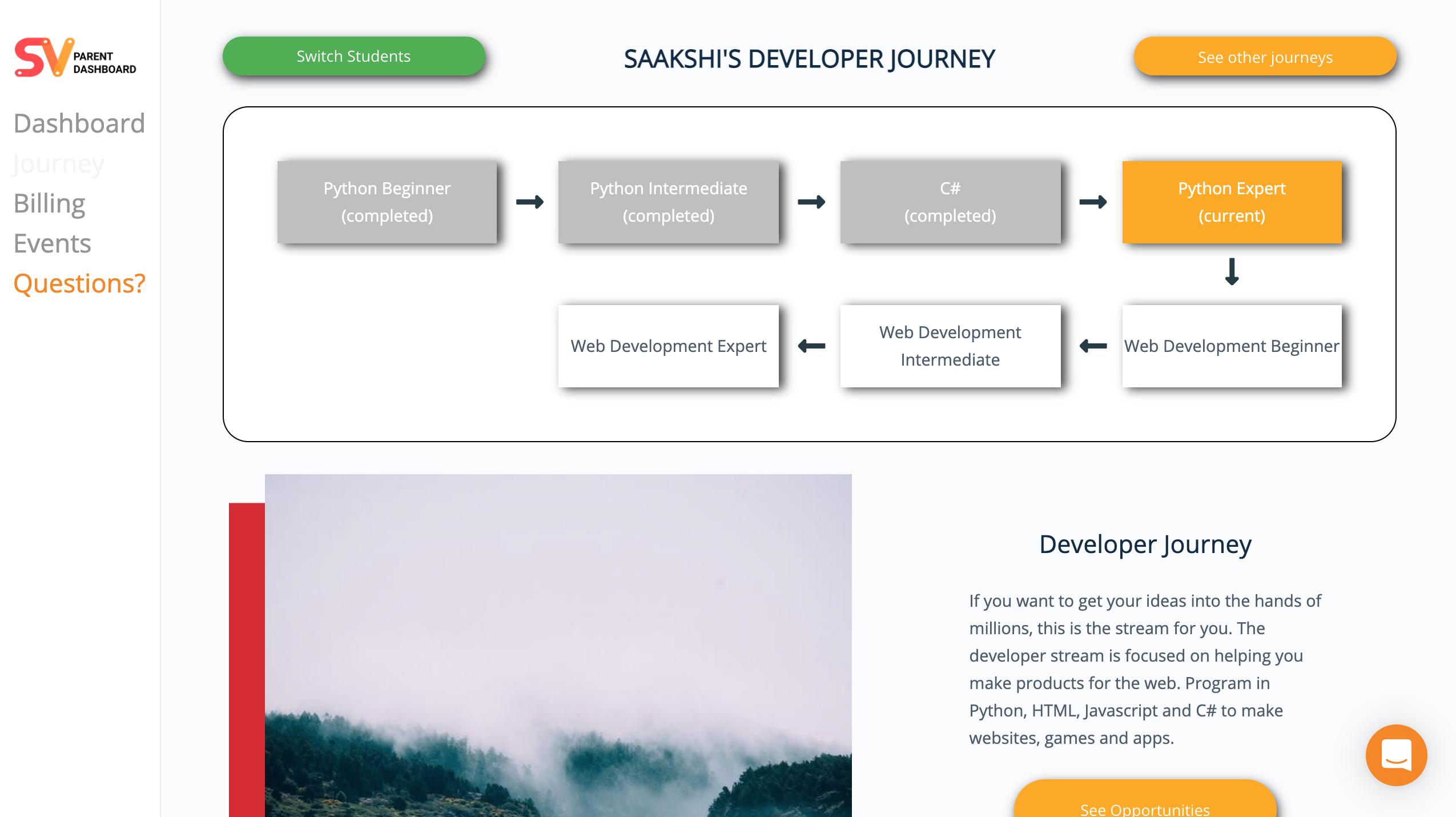 Saakshi's Developer Journey