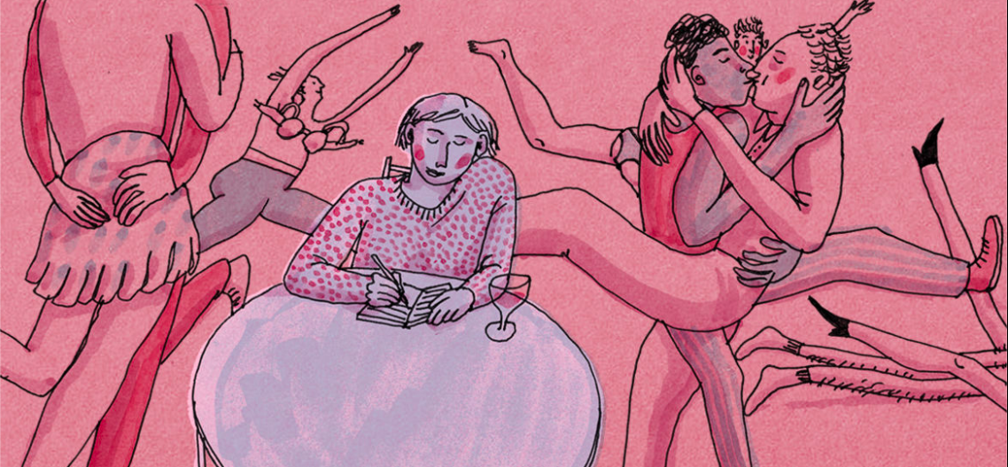 A comment on a year long 'Asexuality' in an arena of sex, written by founder, Eliza Lawrence.