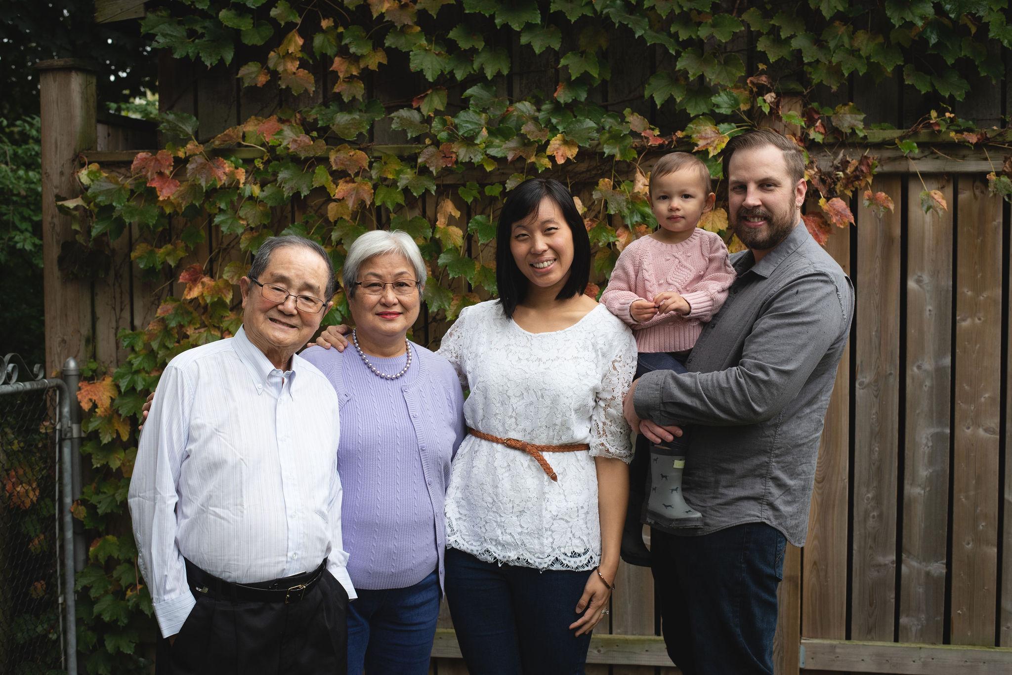 3 generation family photo
