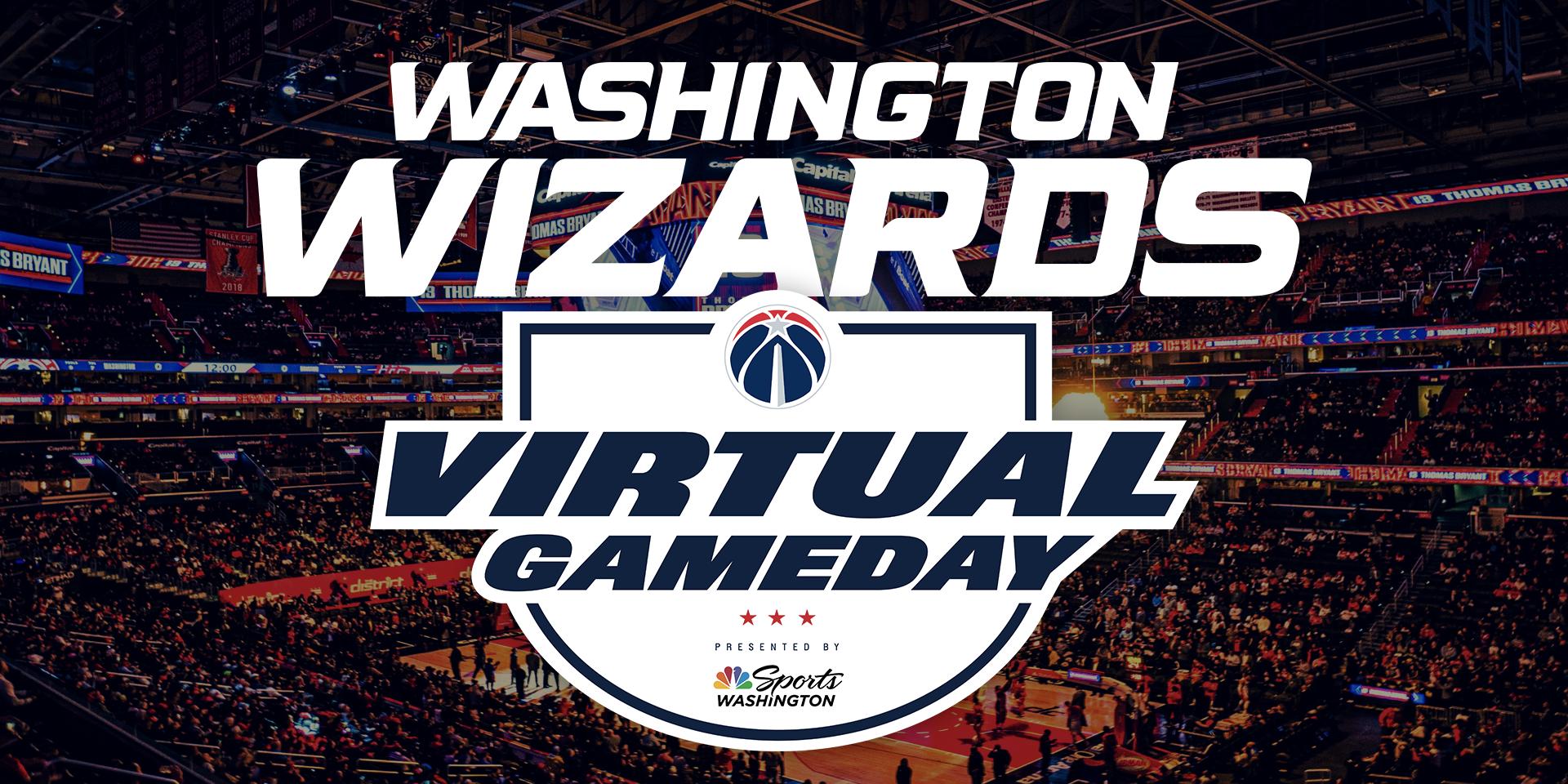 Washington Wizards Virtual Gameday header image