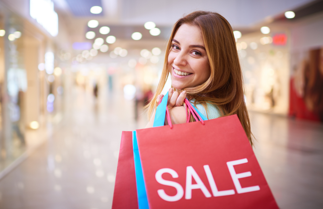 why do customers buy products? sometimes because they are on sale