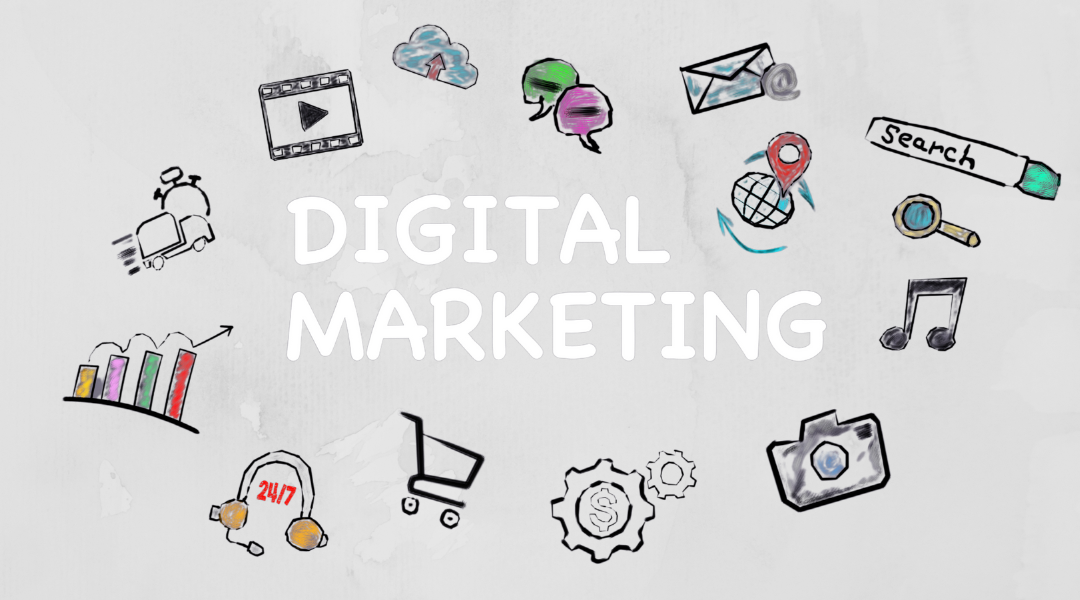 digital marketing channels are online and digital
