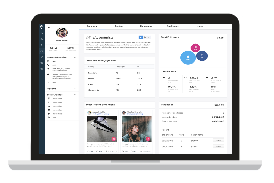 Find and recruit a powerful ambassador marketing team with Wooly software