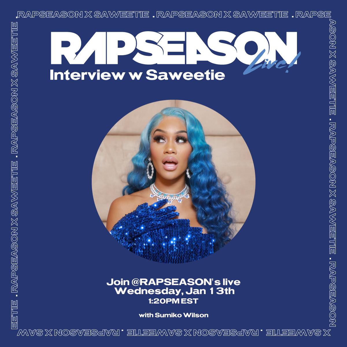 Saweetie Rapseason Poster by 13alogun
