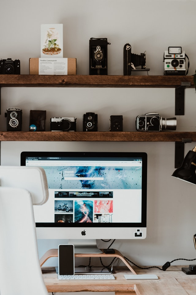Setup for working remotely