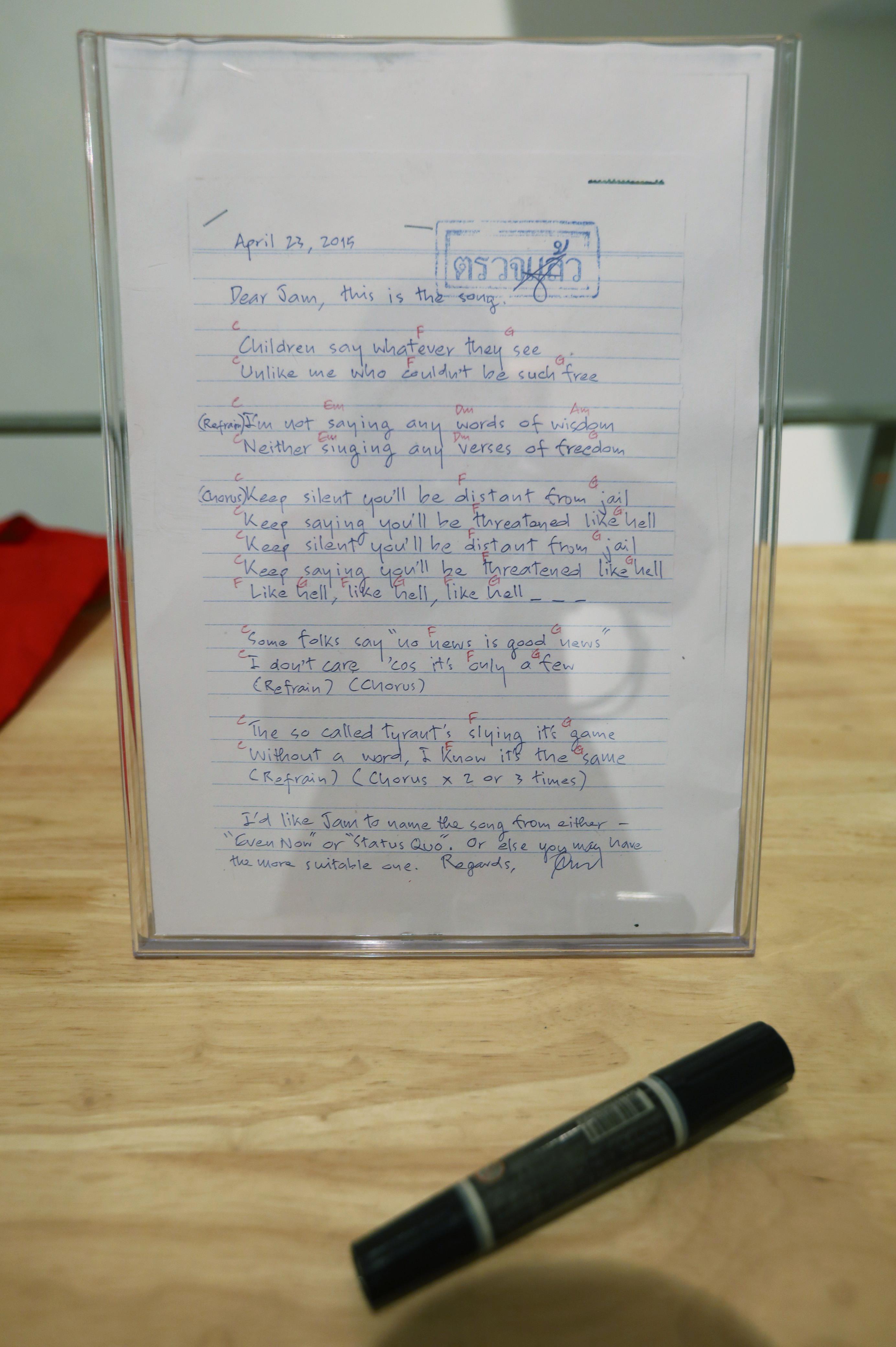 Opas's Felt-tip Marker & Opas's Love Song