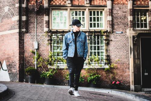 Album cover fotoshoot DJ