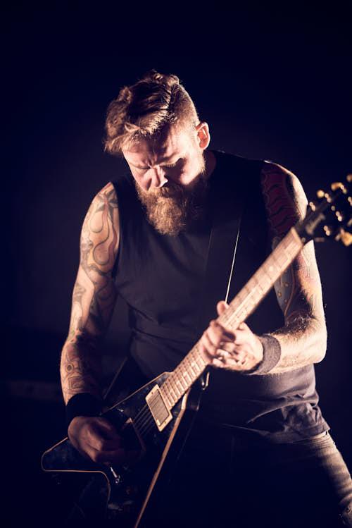 Metal band fotoshoot