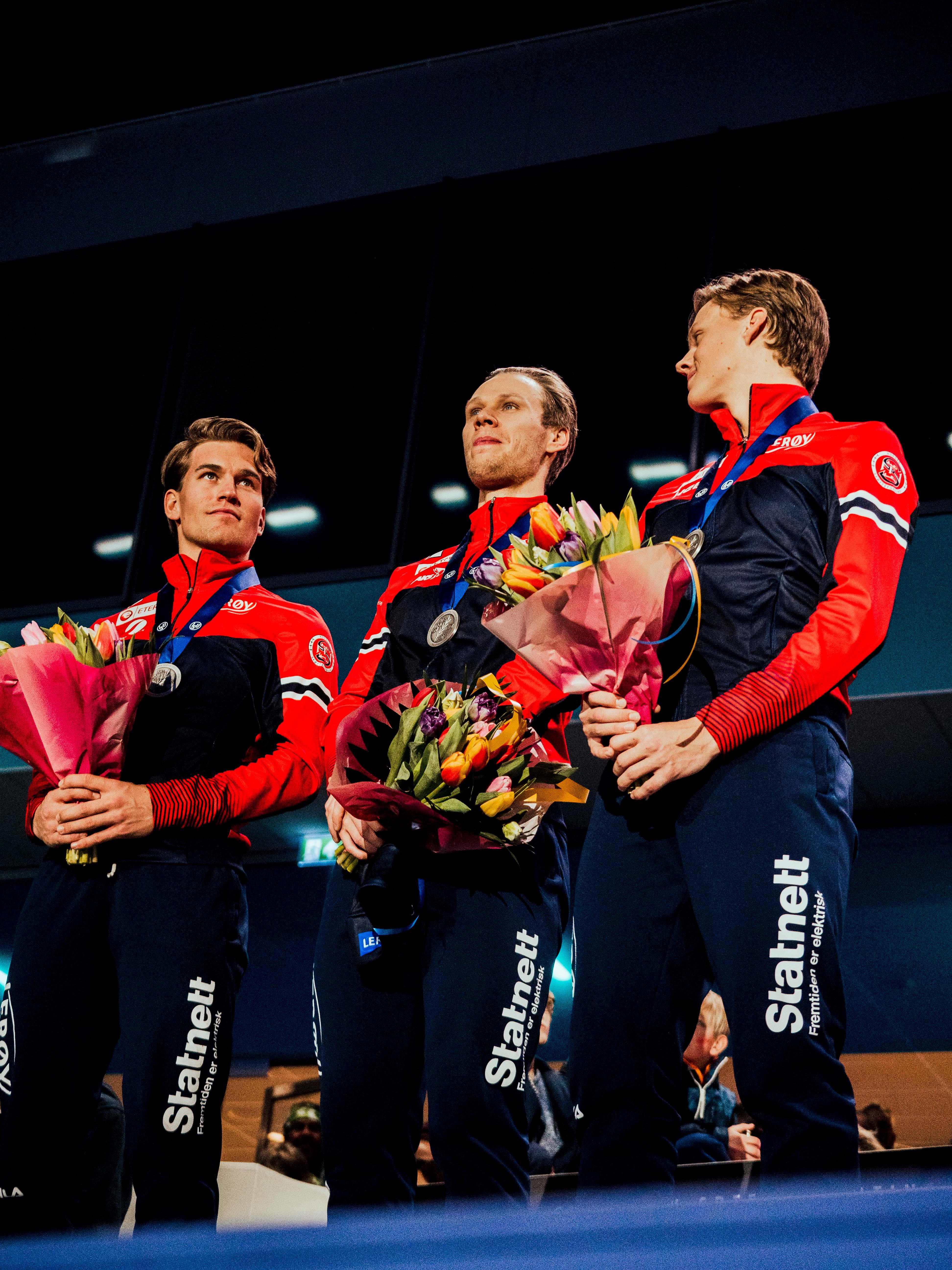 Farstad, Lorentzen, Magnussen, European Championships 2020