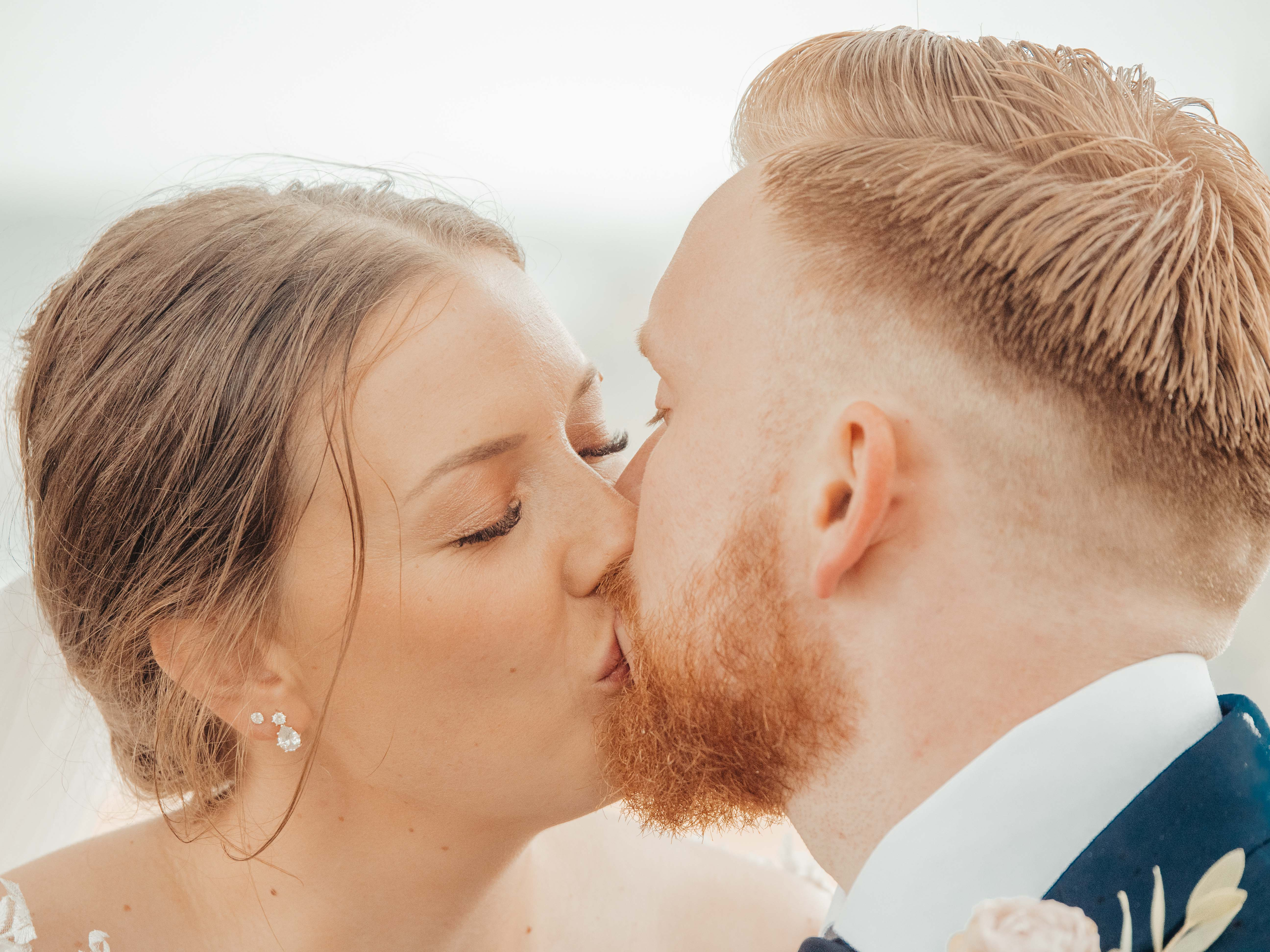 Tonje og Aleksander 2019 - Wedding kiss