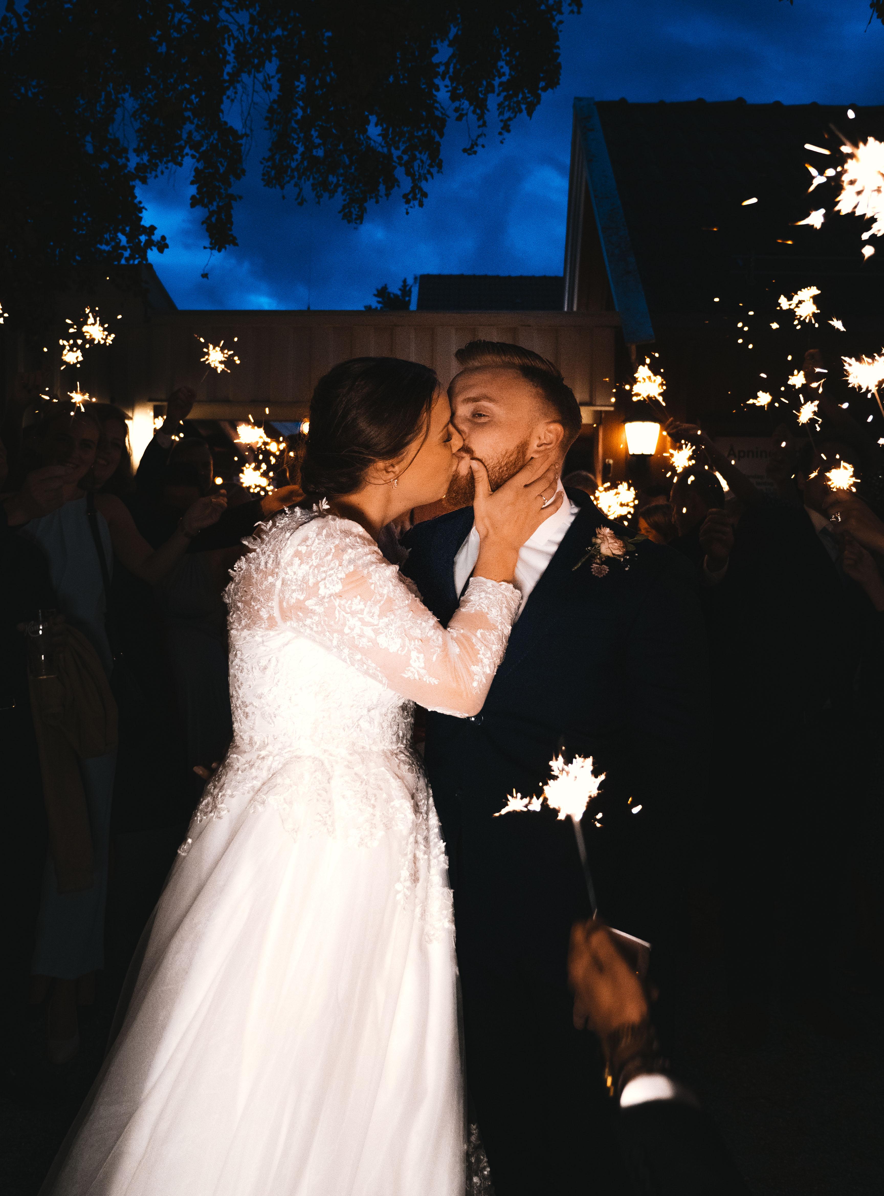 Tonje og Aleksander 2019 - Night kiss