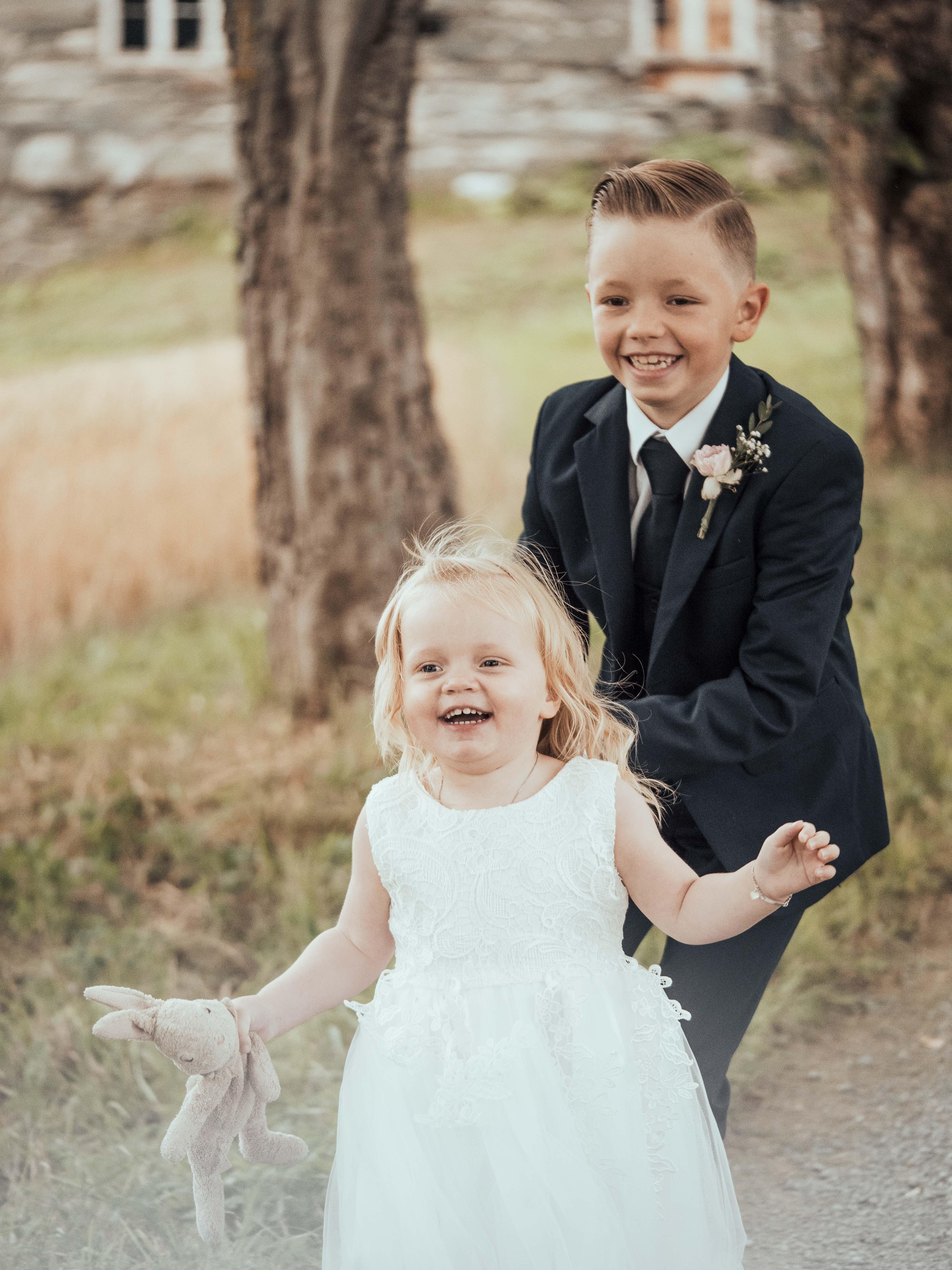 Tonje og Aleksander 2019 - Kids at wedding