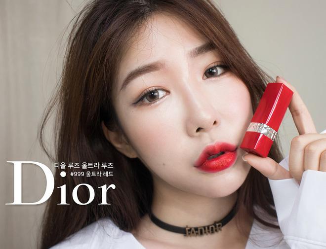 M├аu son ch├Гnh h├Бng cao cр║Цp Dior Ultra Rouge 999 Ultra Dior