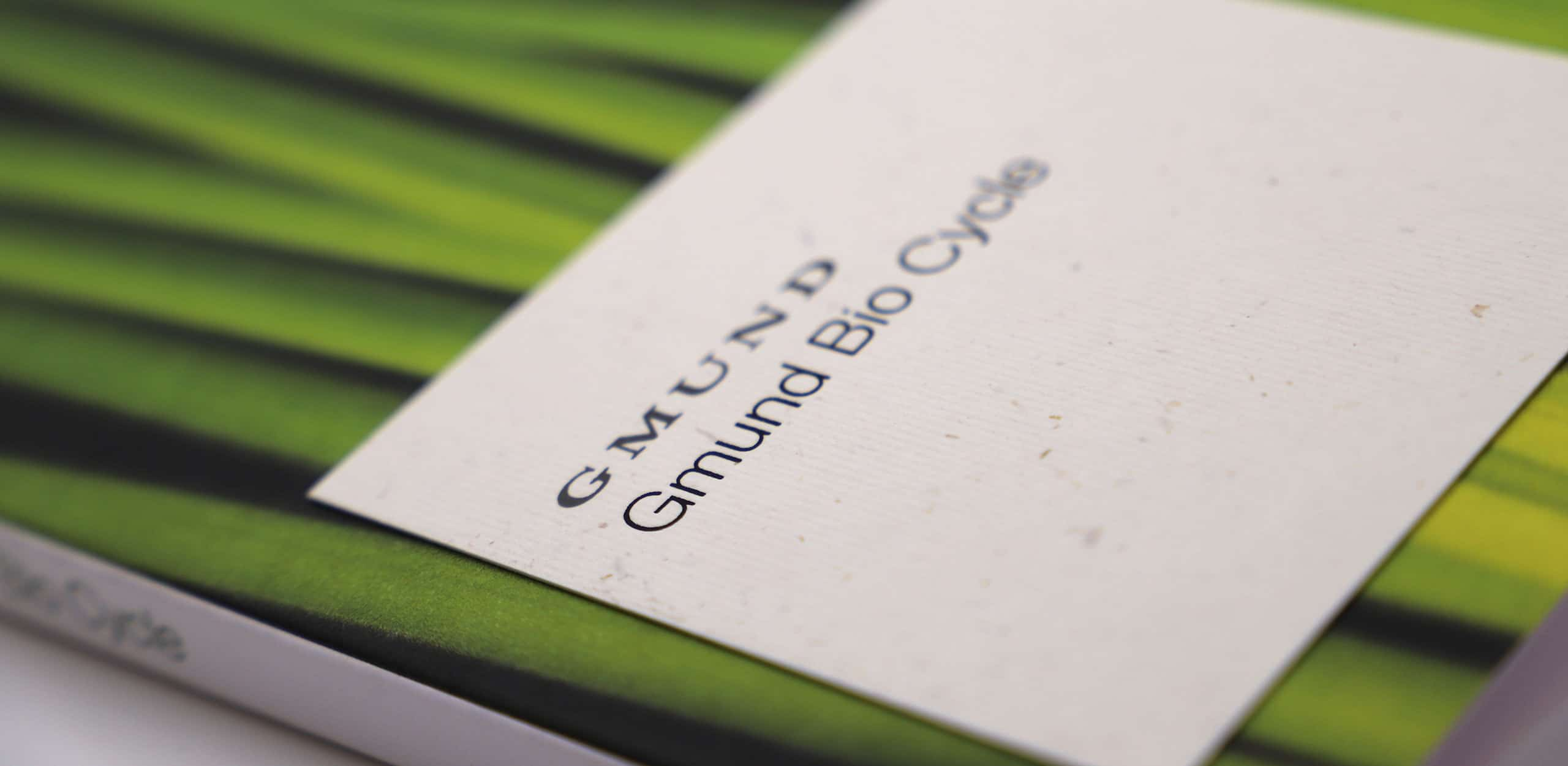 Gmund bio paper