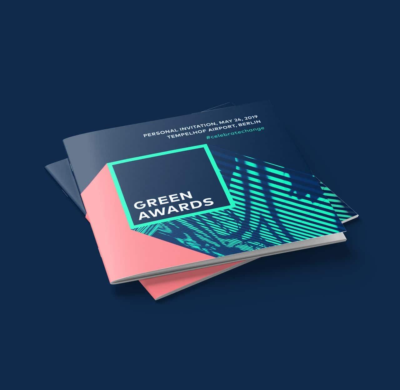Greentech Festival brochure design