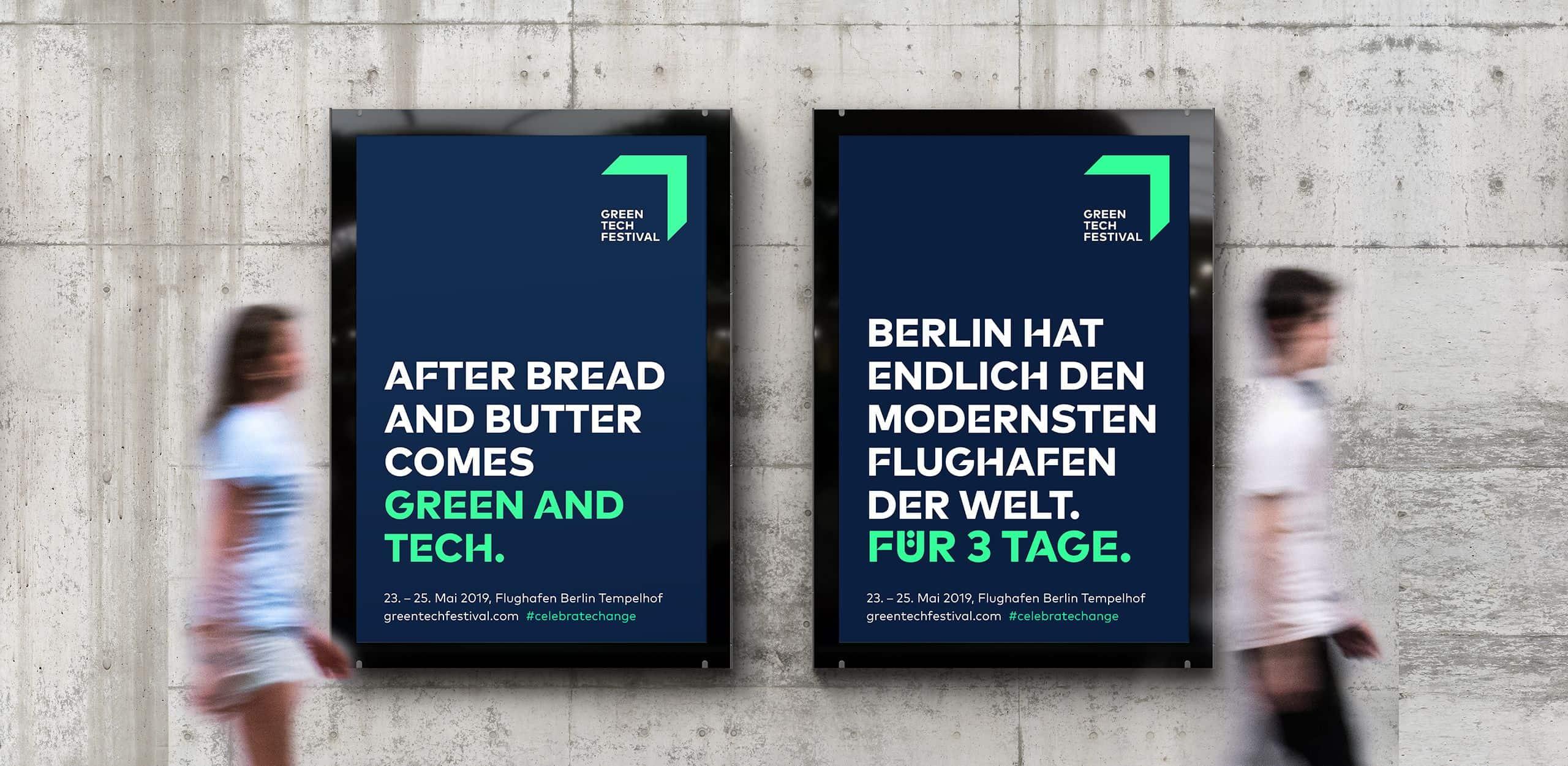 Greentech Festival poster designs
