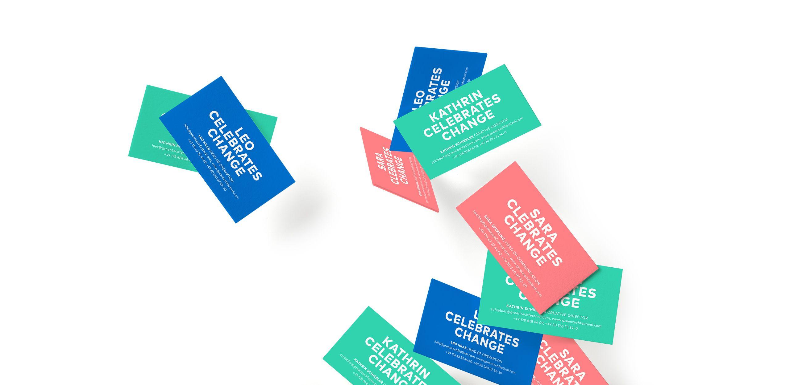 Greentech Festival print designs