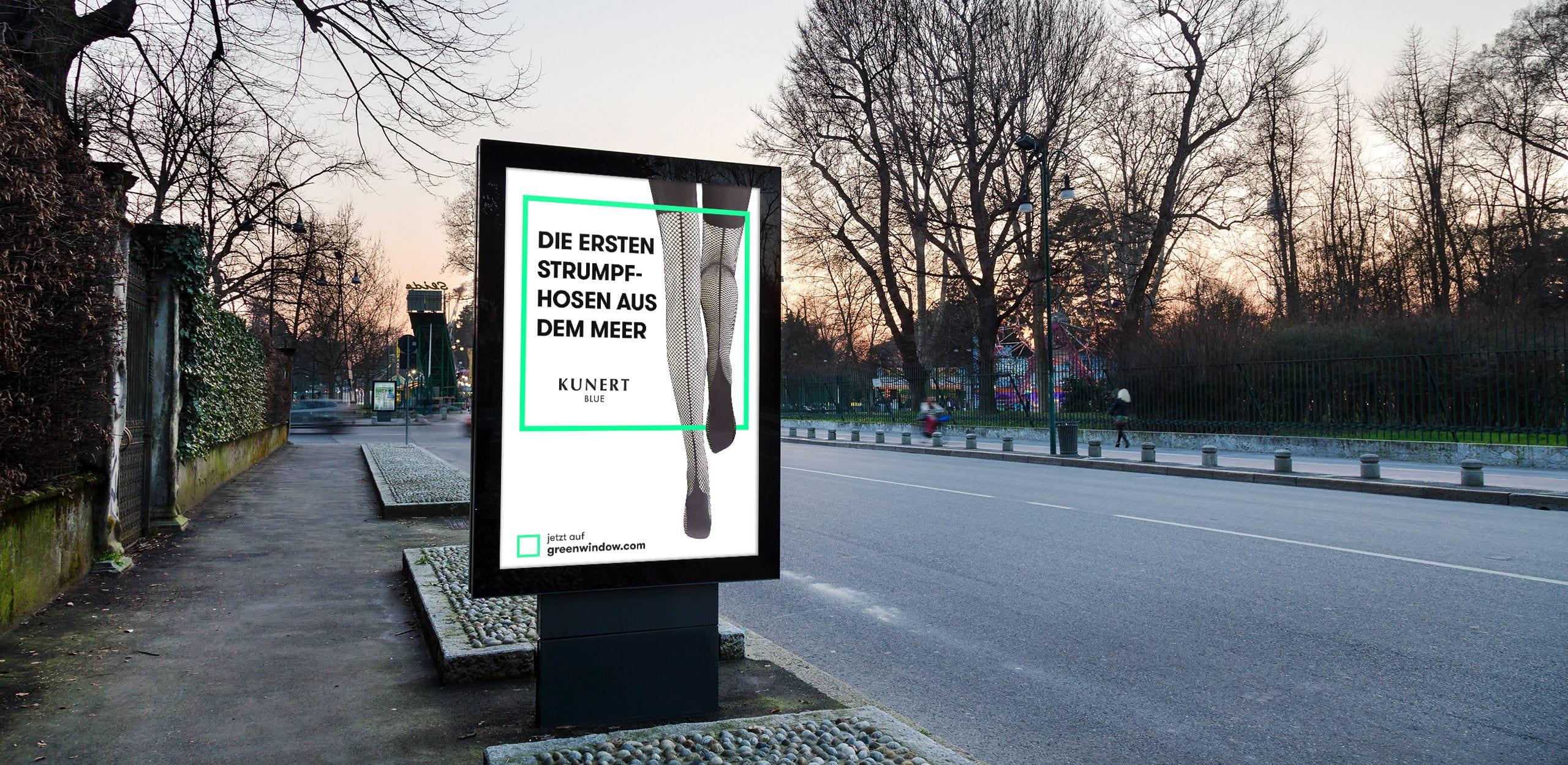 Kunert digital poster design