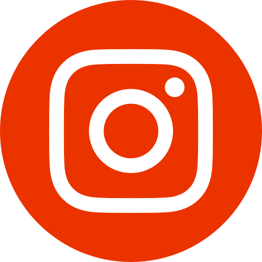 Red instagram icon link
