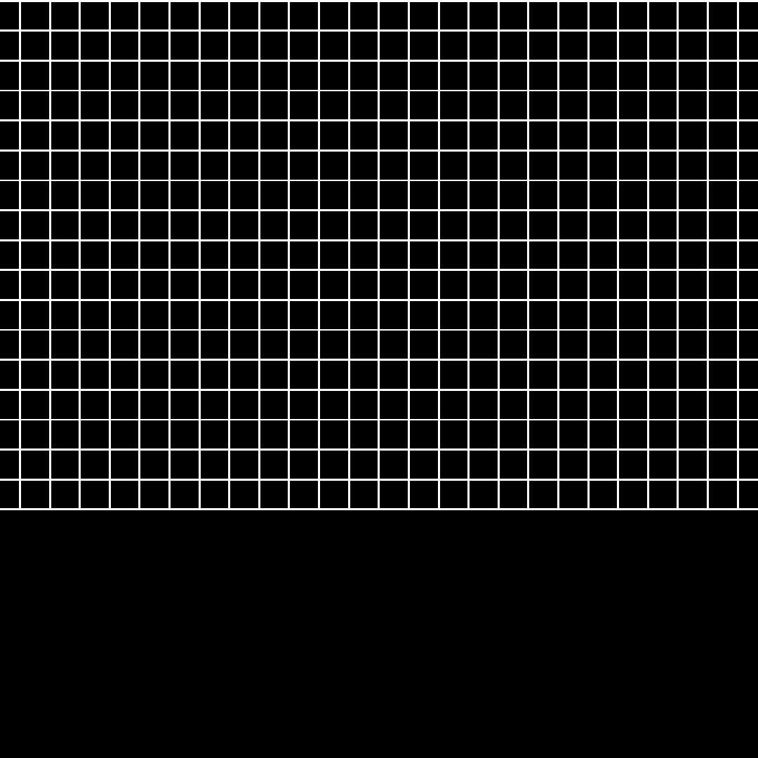 white grid squares