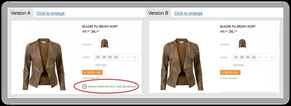 e-commerce-urgency-eksempel