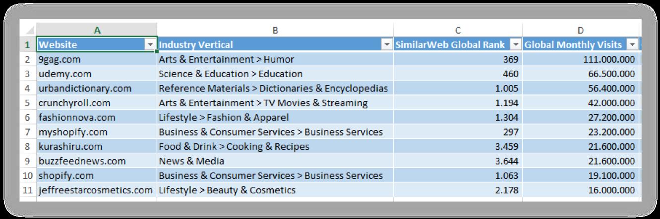 similartech-excel-download