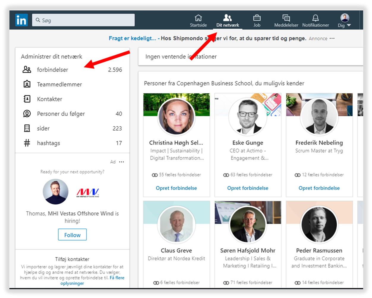email-linkedin-connections