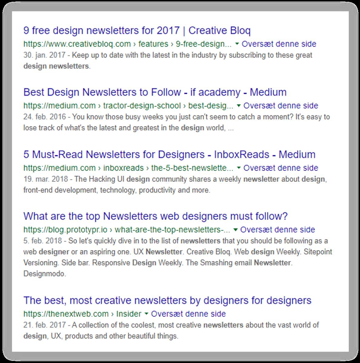 google-søgning-eksempel