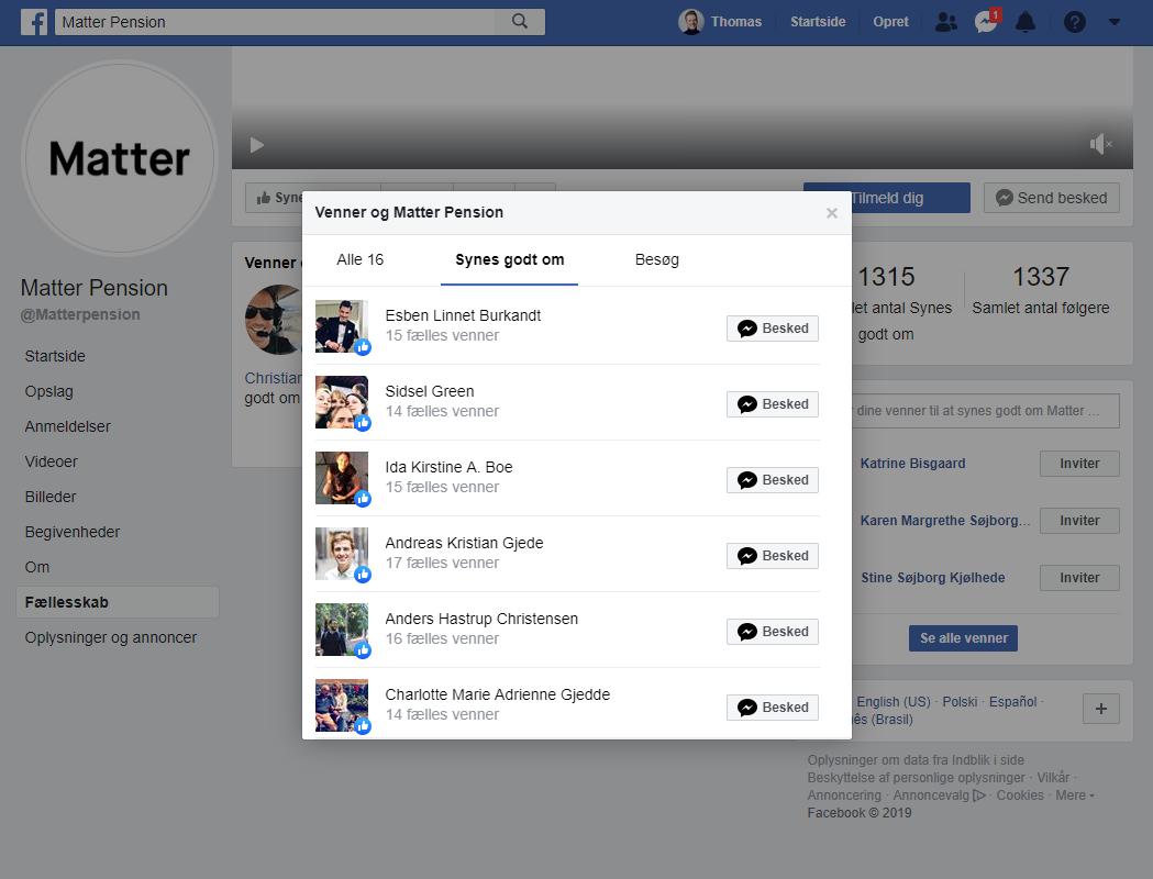 Facebook konkurrent