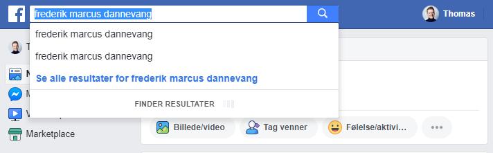 Facebook kunde