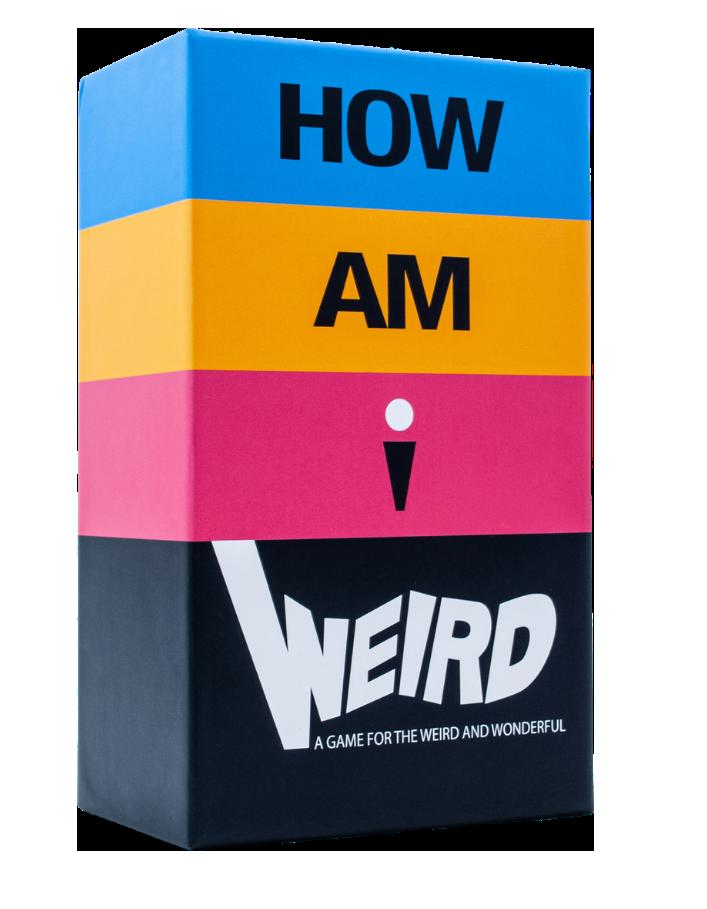 How AM I Weird Game Box