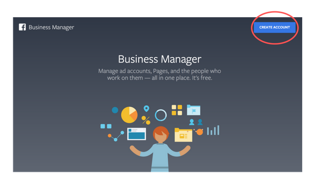 business manager homepage