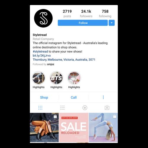 styletread instagram feed