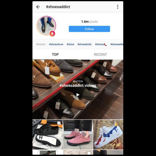 shoesaddict hashtag results