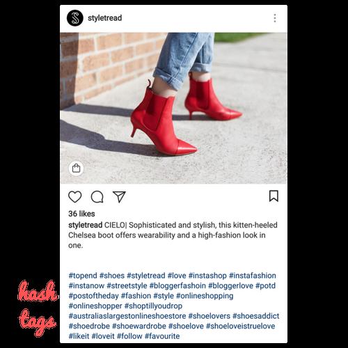 styletread instagram post hashtags